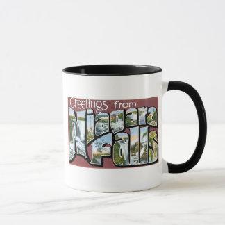 Greetings from Niagara Falls! Mug
