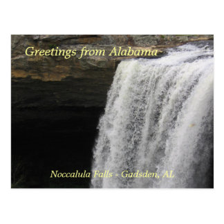 Greetings from Noccalula Falls Postcards