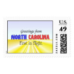 Greetings from North Carolina Stamp