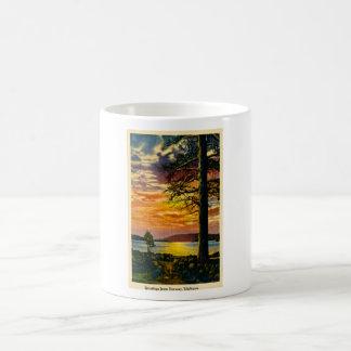 Greetings from Norway, Michigan - Vintage Coffee Mug