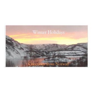 Greetings from Norway (photocard) Card