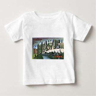 Greetings from Norwich, Connecticut! Baby T-Shirt