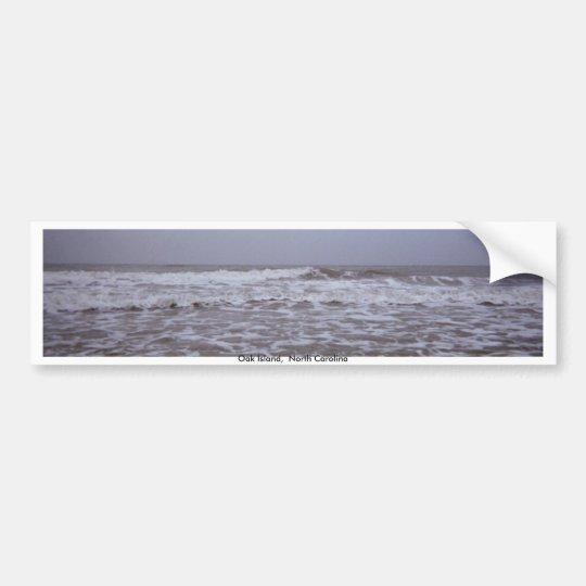 Greetings from Oak Island Seashores Bumper Sticker