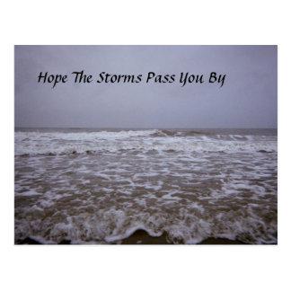 Greetings from Oak Island Seashores Postcard