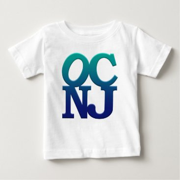 Beach Themed Greetings from Ocean City Baby T-Shirt