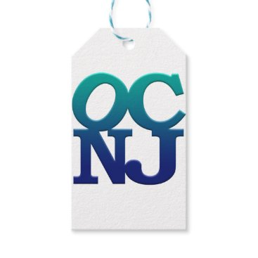 Beach Themed Greetings from Ocean City Gift Tags