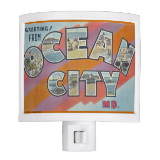 Greetings from Ocean City, Maryland, Night Light