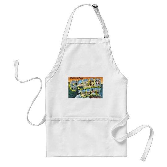 Greetings from Ocean City, New Jersey! Adult Apron