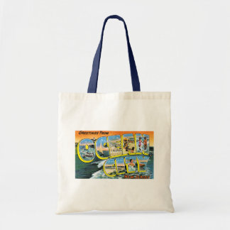 Greetings From Ocean City, NJ Tote Bags