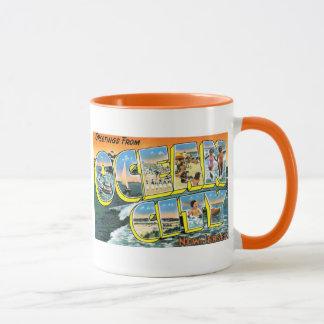 Greetings From Ocean City, NJ Mug
