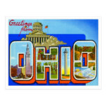 Greetings From Ohio Post Card