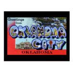 Greetings from Oklahoma City Oklahoma Post Cards