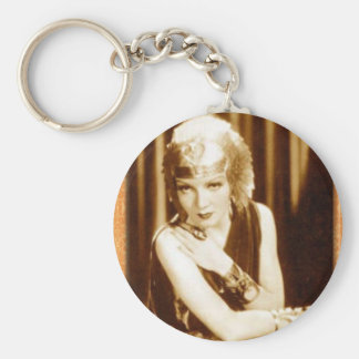 Greetings from Old Hollywood: Claudette Colbert Key Chain