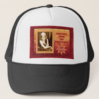 Greetings from Old Hollywood: Claudette Colbert Trucker Hat