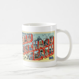 Greetings from Old Orchard Beach ME Coffee Mug
