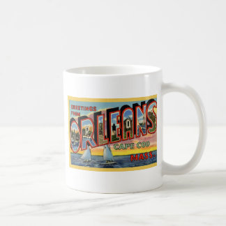 Greetings from Orleans Massachusetts Coffee Mug