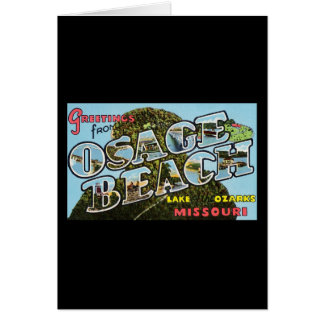 Greetings from Osage Beach Missouri Card