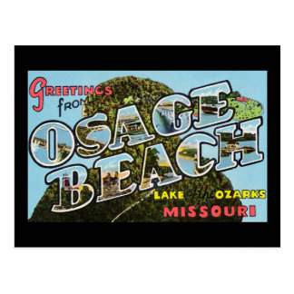 Greetings from Osage Beach Missouri Postcard
