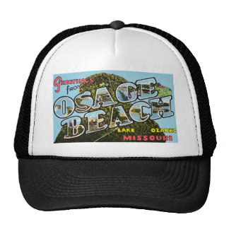 Greetings from Osage Beach Missouri Trucker Hat