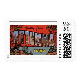 Greetings from Ottumwa Iowa Postage