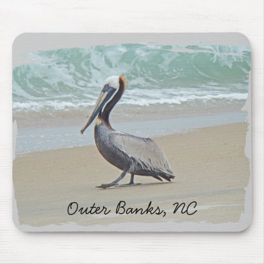 Greetings From Outer Banks OBX NC Mouse Pad