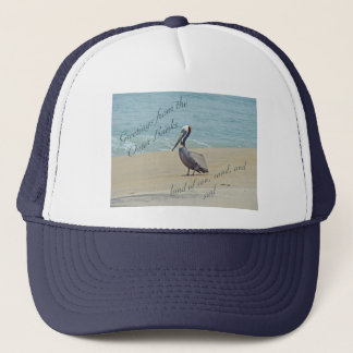 Greetings From Outer Banks OBX NC Trucker Hat