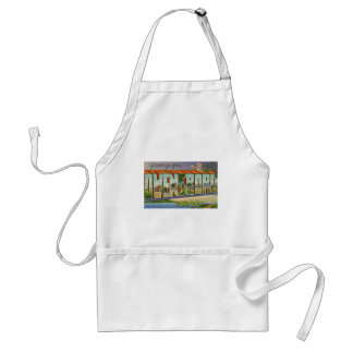 Greetings from Owensboro Kentucky Adult Apron