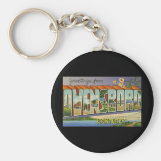 Greetings from Owensboro Kentucky Key Chains