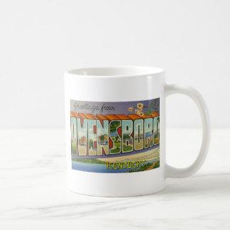 Greetings from Owensboro Kentucky Classic White Coffee Mug