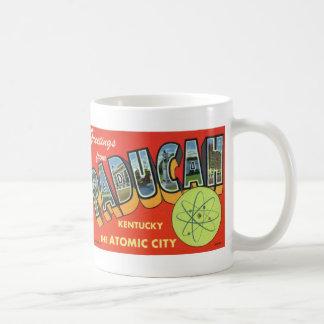 Greetings from Paducah Vintage Postcard Mug