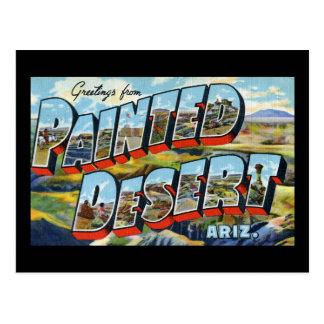 Greetings from Painted Desert Arizona Post Card