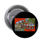 Greetings from Palm Beach Florida Pinback Buttons