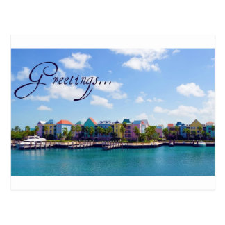Greetings from Paradise Postcard