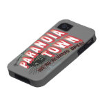 Greetings from Paranoia Town - Always Open iPhone 4/4S Case