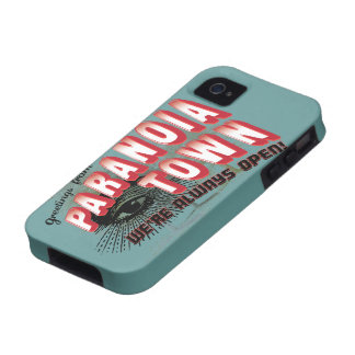 Greetings from Paranoia Town - Always Open Vibe iPhone 4 Cover