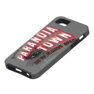 Greetings from Paranoia Town - Always Open iPhone 5 Cover