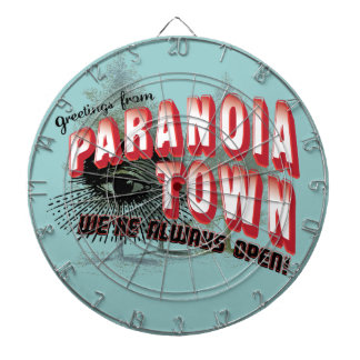 Greetings from Paranoia Town - Always Open Dartboards