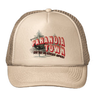 Greetings from Paranoia Town - Always Open Mesh Hat