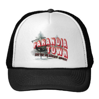 Greetings from Paranoia Town - Always Open Hats