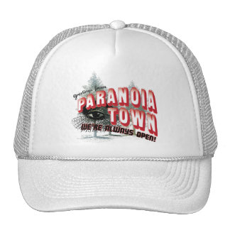 Greetings from Paranoia Town - Always Open Trucker Hat