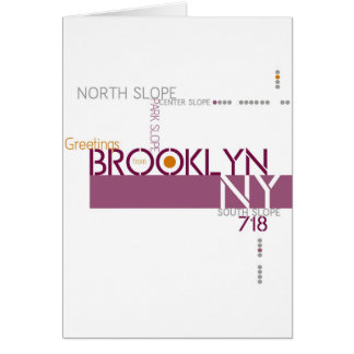 Greetings from Park Slope, Brooklyn Card
