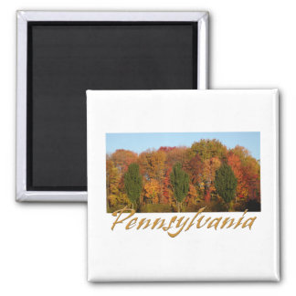 Greetings from Pennsylvania 2 Inch Square Magnet