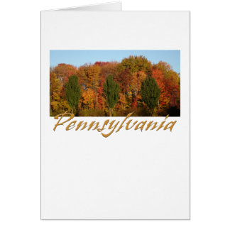 Greetings from Pennsylvania Card