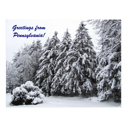 Greetings from Pennsylvania! Postcard