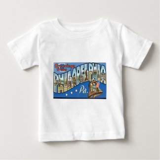 Greetings from Philadelphia, Pennsylvania! Baby T-Shirt