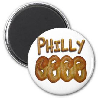 Greetings from Philly 2 Inch Round Magnet