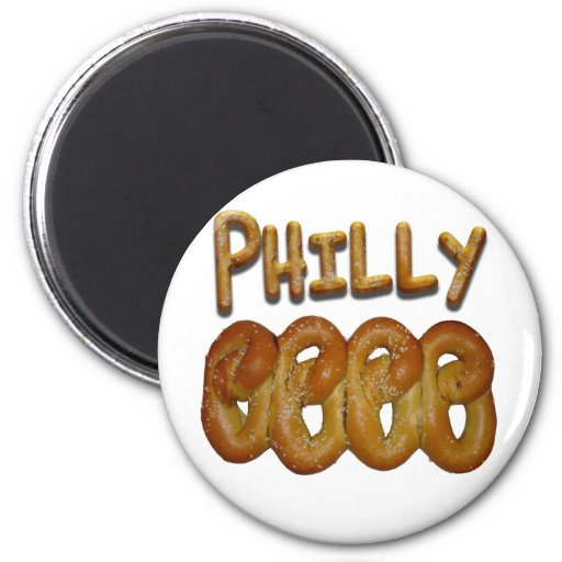 Greetings from Philly Refrigerator Magnets