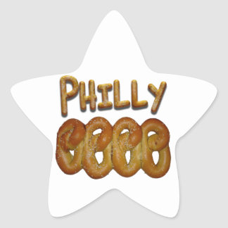 Greetings from Philly! Star Sticker