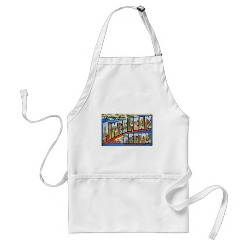 Greetings from Pikes Peak, CO! Adult Apron