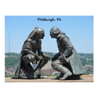 Greetings from Pittsburgh, PA Postcard